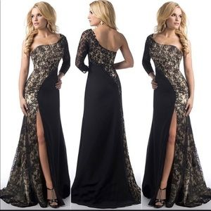 Women's Plus Size Sexy Dress with Slit